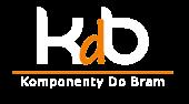 Logo KdB białe