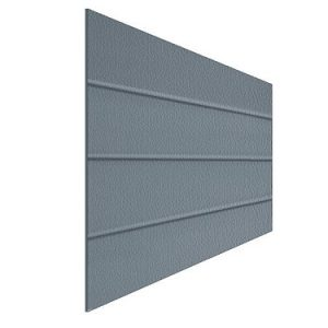 Panels for sectional doors